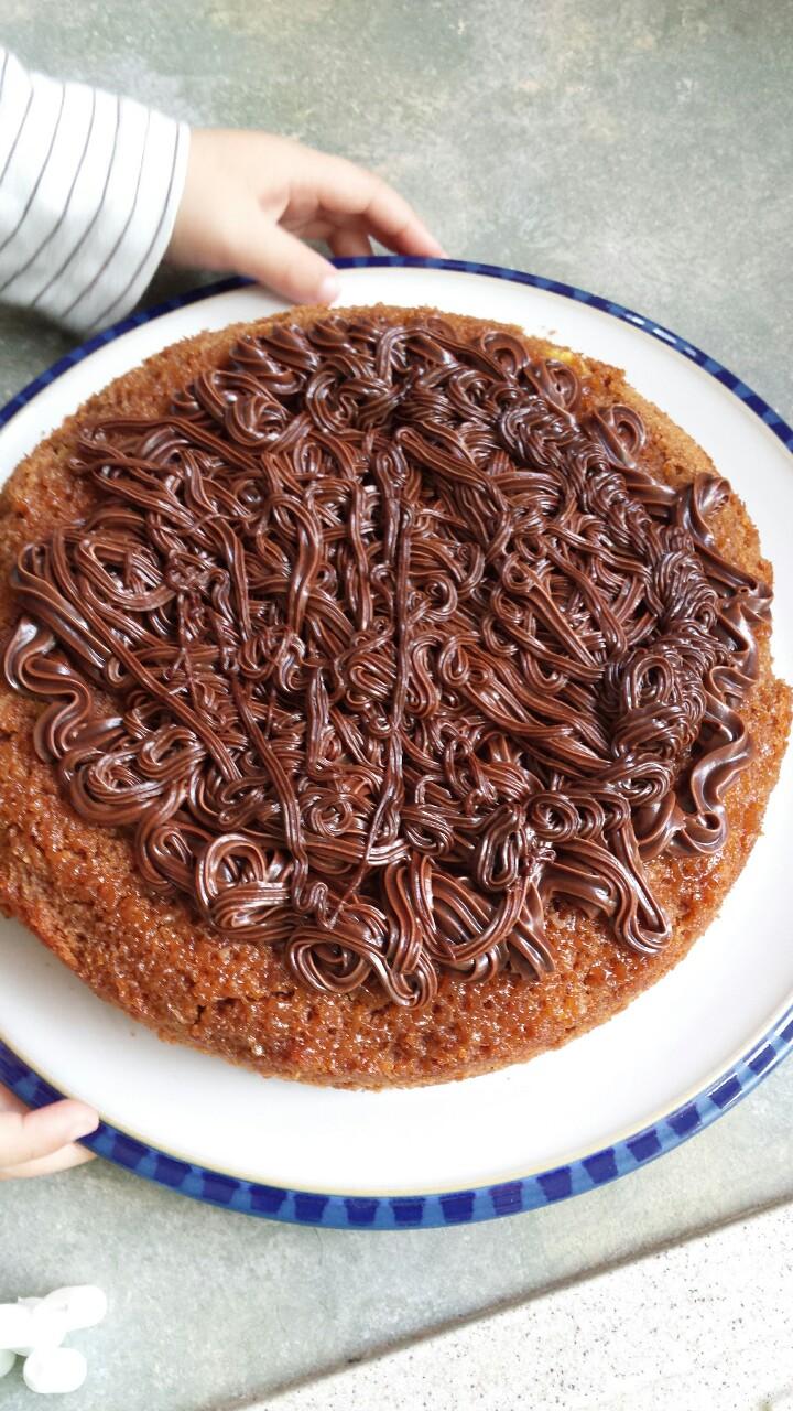 """""""I want to do it myself"""" chocolatecake"""