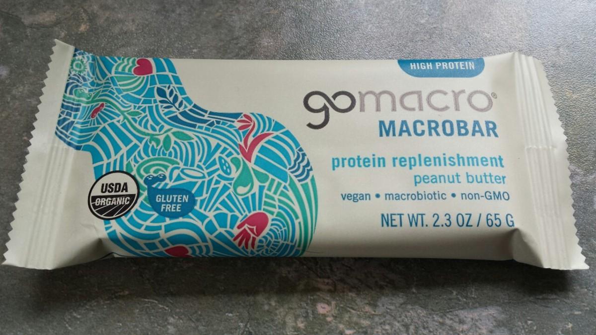Go Macro Protein Replenishment Peanut ButterMacrobar