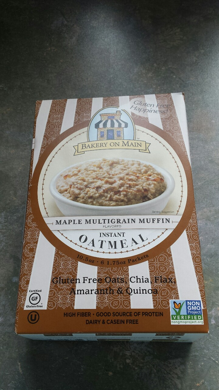 Bakery on Main Maple Multigrain Muffin Flavored InstantOatmeal