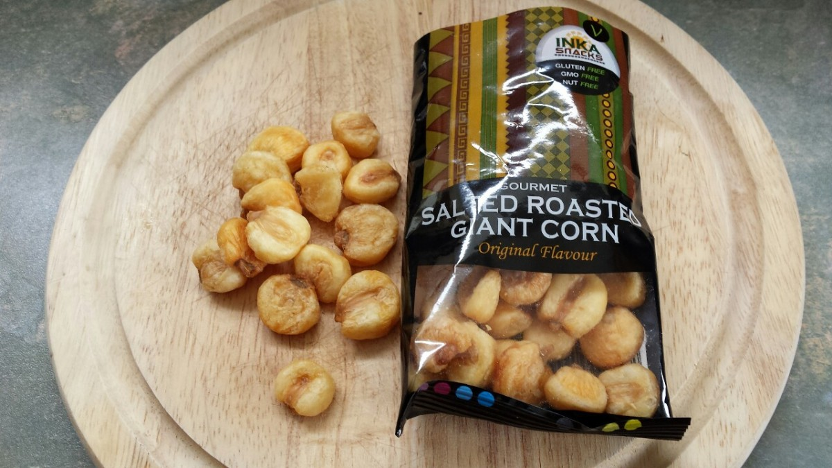 Inka Snacks Salted Roasted GiantCorn