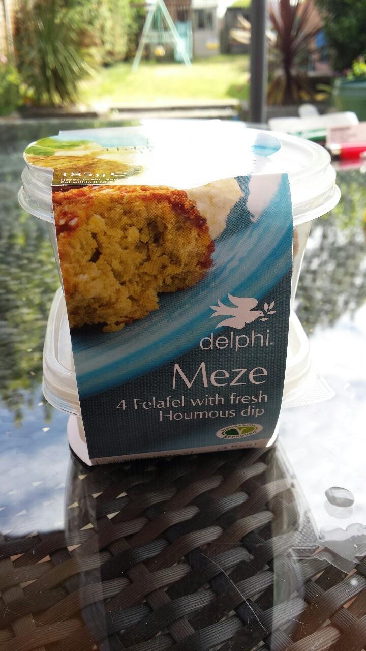 Delphi Meze (Felafel andhoumous)