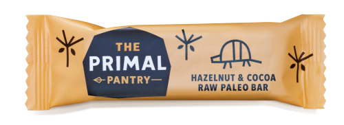 The Primal Pantry Hazelnut & Cocoa Raw Paleo Bar