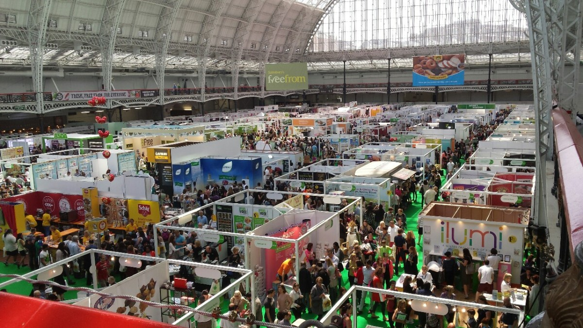 Free From and V Living Shows, Olympia,London.