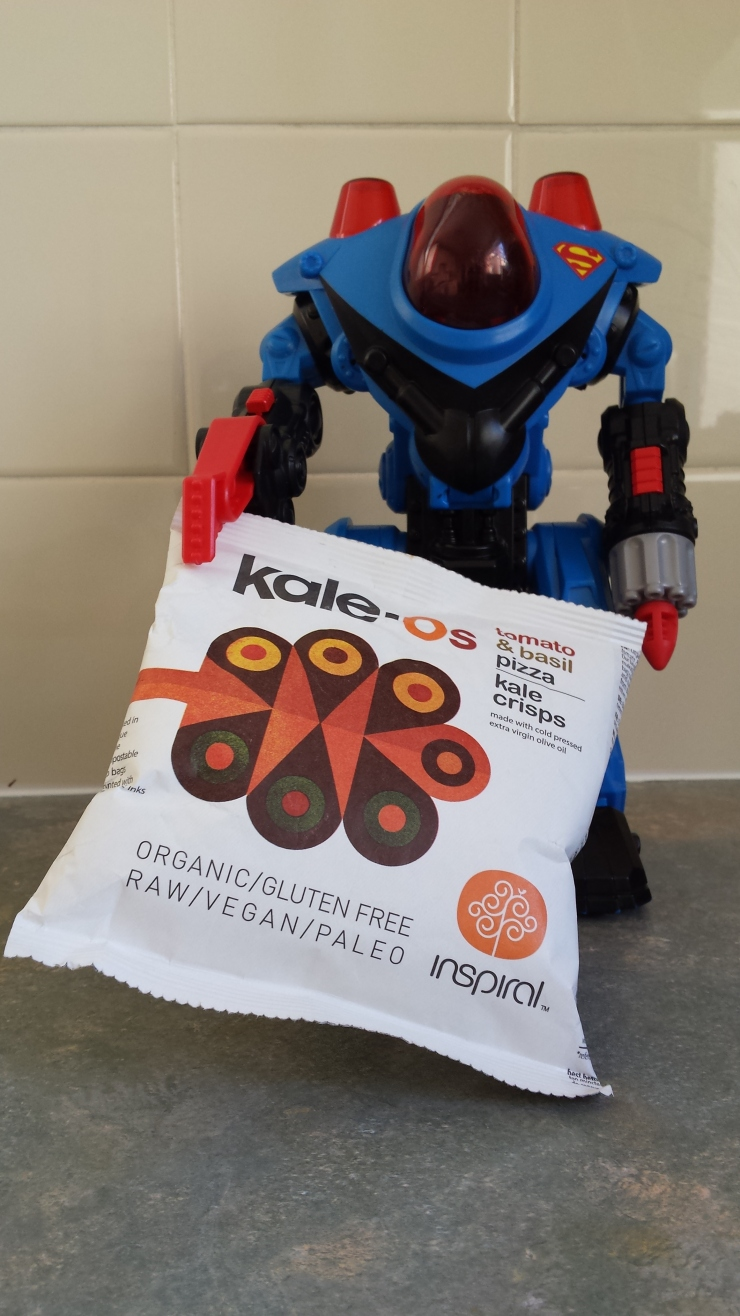 Photograph of Kale-Os packet
