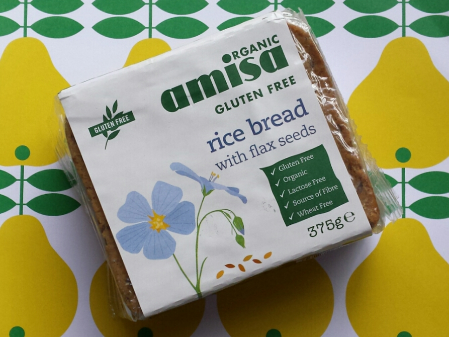 Amisa Rice Bread With Flax Seeds