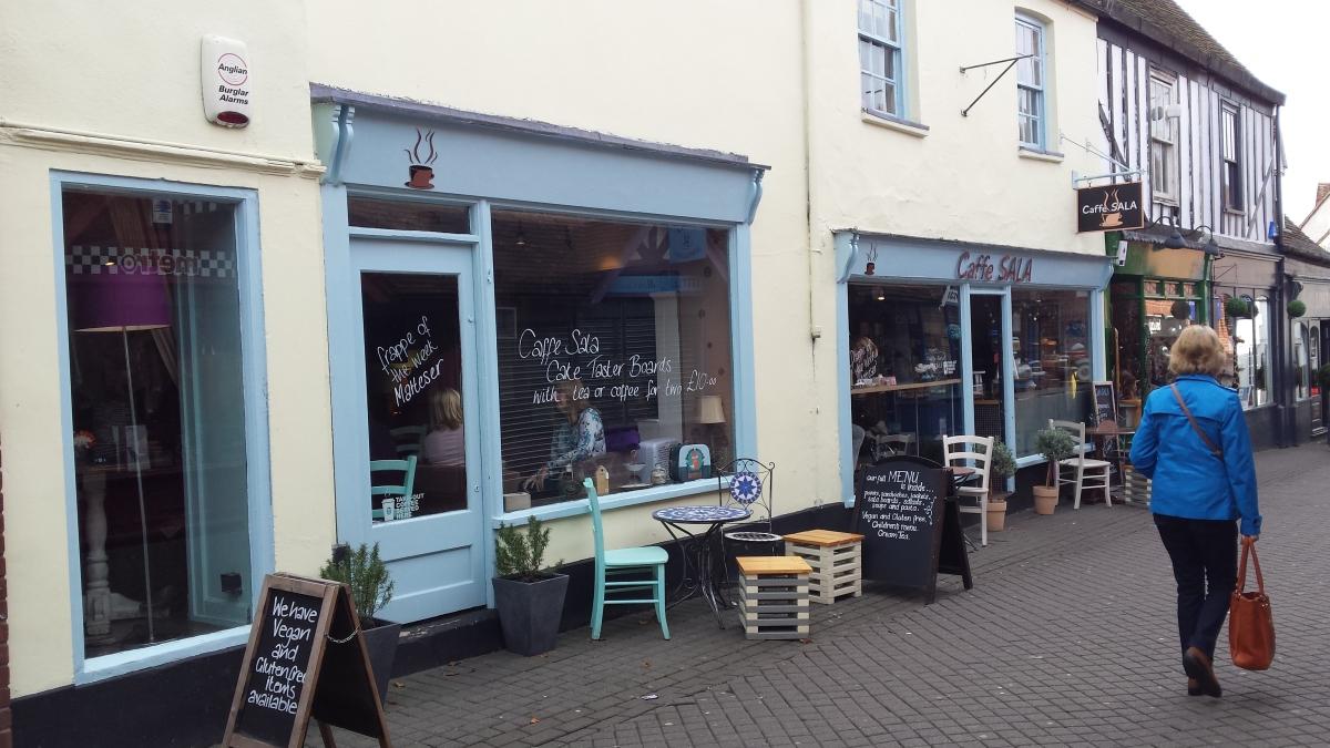 Caffe Sala, Colchester
