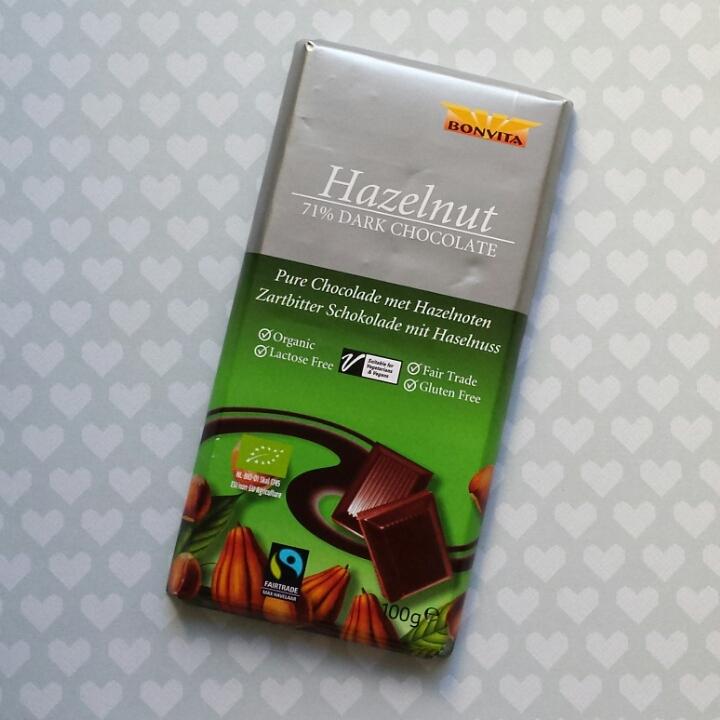 Bonvita Hazelnut 71% DarkChocolate