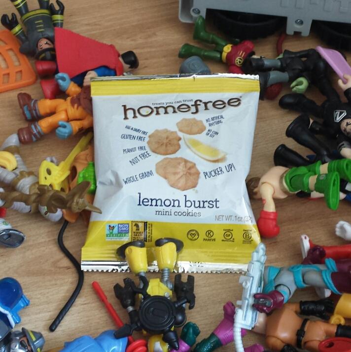 Homefree Lemon Burst MiniCookies
