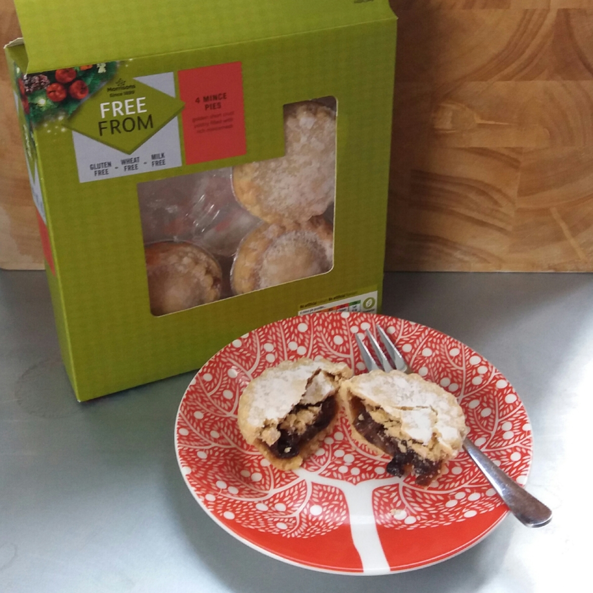 Morrison's Free From Mince Pies