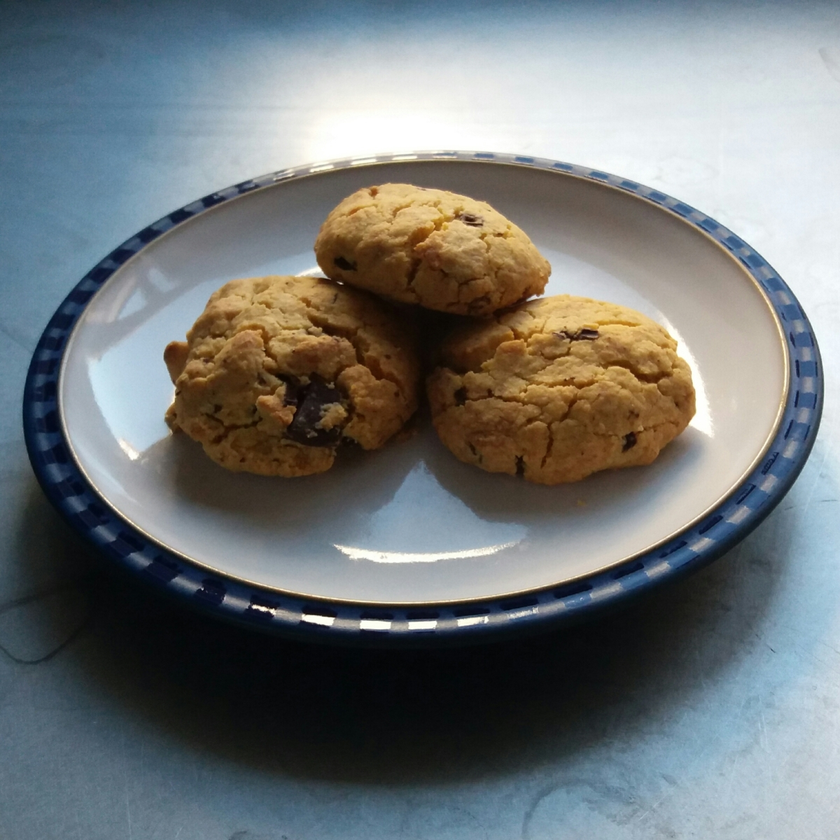 Peanut butter and Chocolate Cookies (Vegan, GF)