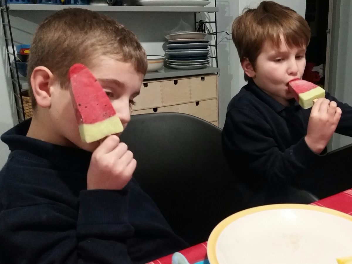 CoOp Watermelon Lollies